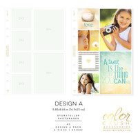 Color Crush - A5 Photo Sleeves Design A 8-pk