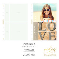 Color Crush - A5 Photo Sleeves Design B 8-pk