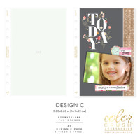 Color Crush - A5 Photo Sleeves Design C 8-pk