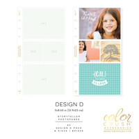 Color Crush - A5 Photo Sleeves Design D 8-pk