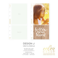 Color Crush - Personal Photo Sleeves Design J 8-pk