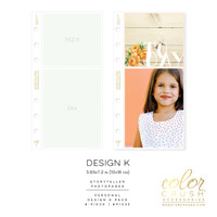 Color Crush - Personal Photo Sleeves Design K 8-pk