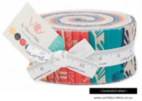 Moda Fabric Precuts Jelly Roll - Valley by Sherri and Chelsi