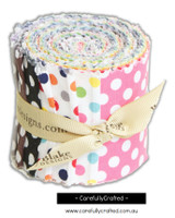 Riley Blake Designs - Polka Dots - Jelly Roll