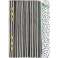 "Prima Marketing - My Prima Planner Zippered Pen & Pencil Bag 4"" x 8"" - Cute Stripes"