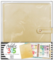 Create 365 - Me and My Big Ideas - The Happy Planner™ Deluxe Cover - Gold - BIG