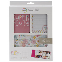 American Crafts - Project Life Core Kit - Super Cute - 180 Cards