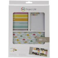 American Crafts - Project Life Core Kit - Peace, Love & Sunshine - 180 Cards