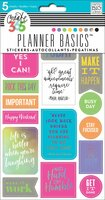Create 365 - Me and My Big Ideas - Planner Basics™ Stickers - Neon