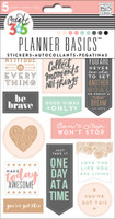 Create 365 - Me and My Big Ideas - Planner Basics™ Stickers - Rose Gold