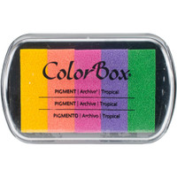 ColorBox Pigment Ink Pad 5 Colors - Tropical
