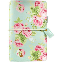 Color Crush - Travelers Journal- Mint Floral