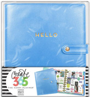 Create 365 - Me and My Big Ideas - The Happy Planner™ Deluxe Cover - Snorkel Blue - BIG