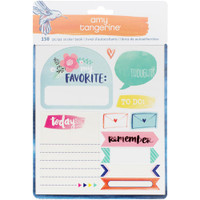 American Crafts - Amy Tangerine - Better Together Sticker Book 8 Pages