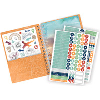 "Paper House - Spiral Bound Planner 7.5"" X 8.5"" - Adventure Awaits"