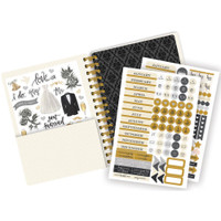 "Paper House - Spiral Bound Planner 7.5"" X 8.5"" - Always and Forever Wedding"