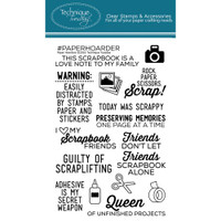 Technique Tuesday Clear Stamps - Paper Hoarders