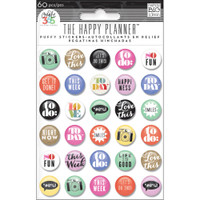 Create 365 - Me and My Big Ideas - Planner Puffy Stickers - To Do
