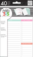Create 365 - Me and My Big Ideas - The Happy Planner - Daily Sheets - MINI