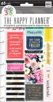 Create 365 - Me and My Big Ideas - The Happy Planner - Planner Stickers - Happy Life