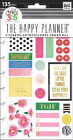 Create 365 - Me and My Big Ideas - The Happy Planner - Planner Stickers - Make it Happen