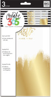 Create 365 - Me and My Big Ideas - The Happy Planner - Dashboards - Gold Foil - 3 Pack - Classic