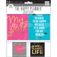 Create 365 - Me and My Big Ideas - The Happy Planner - Pocket Cards - Set of 52
