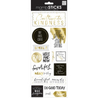 Create 365 - Me and My Big Ideas - The Happy Planner - Specialty Stickers - But First Coffee