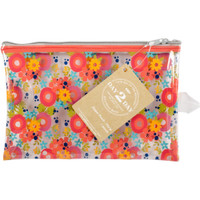 "Day 2 Day Planner Zipper Pouch 5"" x 8"" - Orange Floral"