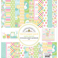 "Doodlebug Double-Sided Paper Pack 12"" x 12"" - Easter Express"