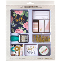 Color Crush Planner & Stationery Accents Kit - Hello Dear