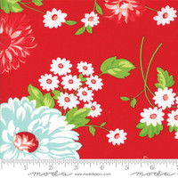 Moda Fabric - The Good Life - Bonnie & Camille - Red #55150 11