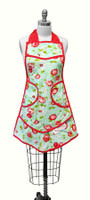 Moda Fabric - The Good Life - Apron Aqua -  Bonnie & Camille