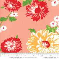 Moda Fabric - The Good Life - Bonnie & Camille - Coral Floral #55150 13