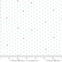 Moda Fabric - The Good Life - Bonnie & Camille  Cream Aqua  55154 12