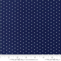 Moda Fabric - The Good Life - Bonnie & Camille  Navy  55154 16