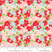 Moda Fabric - The Good Life - Bonnie & Camille  Coral  55155  13