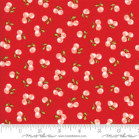 Moda Fabric - The Good Life - Bonnie & Camille  Red  55158  11