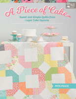 A Piece of Cake by Peta Peace - Softcover Book