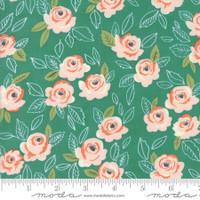 Moda Fabric - Sugar Pie - Lella Boutique - Teal #5040 14