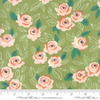 Moda Fabric - Sugar Pie - Lella Boutique - Green  #5040 16