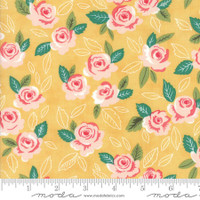 Moda Fabric - Sugar Pie - Lella Boutique - Yellow  #5040 17