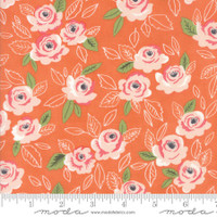 Moda Fabric - Sugar Pie - Lella Boutique - Orange  #5040 18