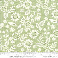 Moda Fabric - Sugar Pie - Lella Boutique - Green #5041 16