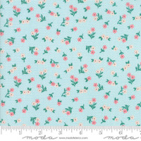 Fabric - Sugar Pie - Lella Boutique - Aqua  #5042 21