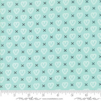 Fabric - Sugar Pie - Lella Boutique - Aqua #5043  15
