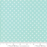 Fabric - Sugar Pie - Lella Boutique  Aqua   #5045  15
