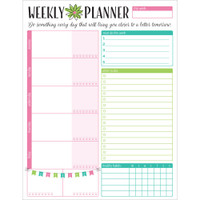 "Bloom Daily Planners - Weekly Planning System Pad 8.5""x 11"""
