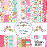"Doodlebug Double-Sided Paper Pad 6"" x 6"" - Cream & Sugar"