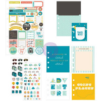 Prima Marketing - My Prima Planner Goodie Pack Embellishments - Adventure & Travels